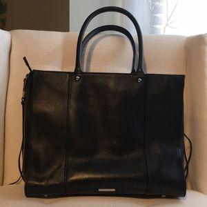 Rebecca Minkoff Med MAB black leather bag